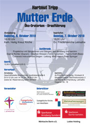 Flyer Mutter Erde